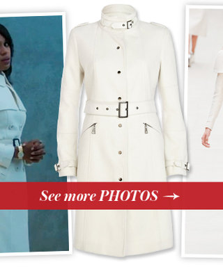 Calling all Gladiators! Shop 8 Olivia Pope-Inspired White Trench Coats