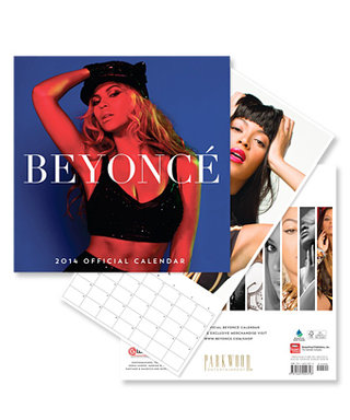 Beyonce Goes Old-School with a 2014 Wall Calendar; Snag It For Just $15