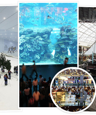 You Can Do So Much More Than Shop at the 3 Most Outrageous Malls in the World