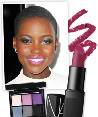 Found It! Lupita Nyong'O's Smoky Violet Shadow and Orchid Lipstick