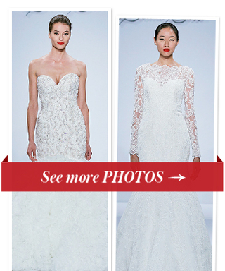 Say Yes to the Dress! See the Dennis Basso for Kleinfeld Bridal Collection