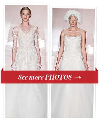 "Reem Acra's Dreamy Fall 2014 Bridal Collection: ""More Couture Than Ever"""