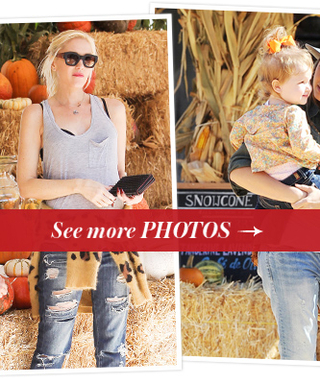 Hollywood Goes Pumpkin Picking With Their Kids! See The Photos