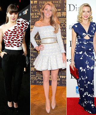 Pick Your Top 5 Celebrity Look From This Week Using the A-List Tool