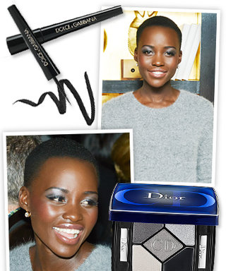 Get the Look: Lupita Nyong'O's Silver Shadow and Winged-Out Cat Eye