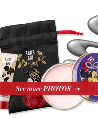 Launch You'll Love: Anna Sui's Minnie Mouse Makeup Collection Makes for the Cutest Holiday Gift, Ever