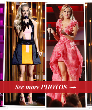 Carrie Underwood Wore 10 Outfits At The 2013 CMA Awards