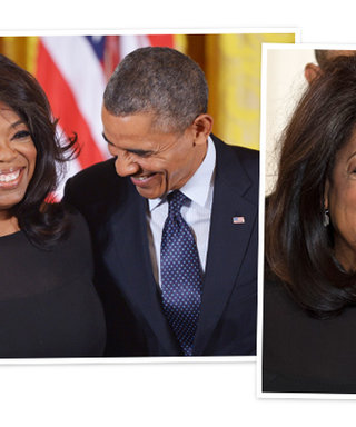 Oprah Earns an Amazing Honor (And Accepts It With an Amazing Blowout!)
