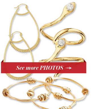 This Is Our Ode to Gold! Shop 12 Pieces of Gilded Jewelry