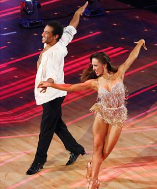 Karina Smirnoff and Corbin Bleu's Costumes on Dancing with the Stars