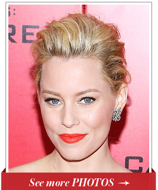 New Year's Eve Hair Idea: A Soft Chignon Like Elizabeth Banks!