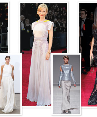 What will Lupita, J-Law, and Sandra wear on Oscar night? Tell Us What You Think During Our Live #OscarsDressDebate