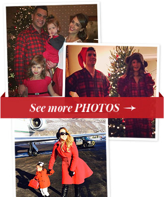 The Holidays Ain't Over Yet! See Celebs Celebrate on Instagram