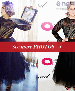 Exclusive! Get a Behind-the-Scenes Peek at How Kelly Osbourne Prepped For the 2014 Oscars
