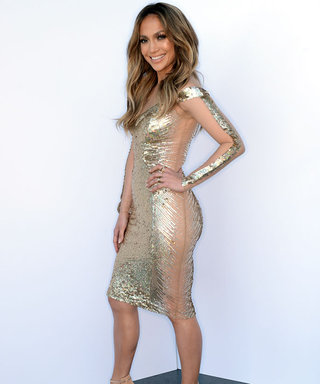 For Her Latest American Idol Look, Jennifer Lopez Sizzles in Sequins