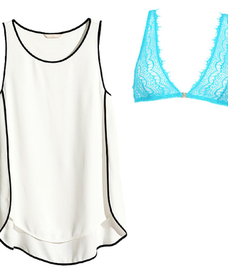 You'll Feel Sexy and Stylish in These Bra-and-Shirt Color Combos