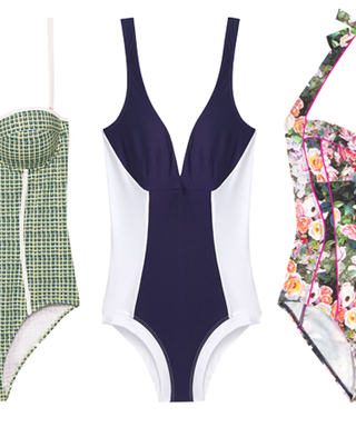 We Found 'Em! 13 One-Pieces That Are Slimming and Sexy