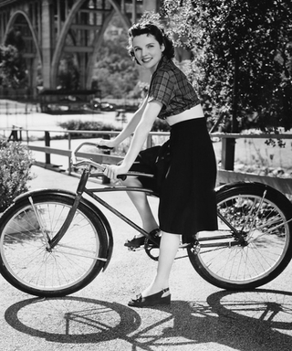 Through the Ages: Beauties on Bikes