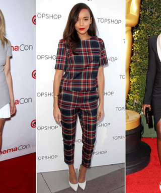 What's the Hottest Footwear Trend in Hollywood? White Pumps!
