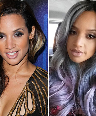 Purple Is The New Black: Dascha Polanco Goes Lilac