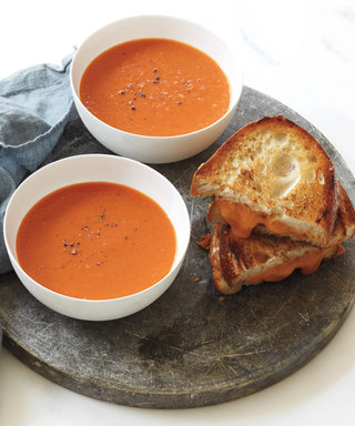 Cozy Up to Tomato and Apple Soup with Grilled Cheese from Top Chef's Stephanie Izard