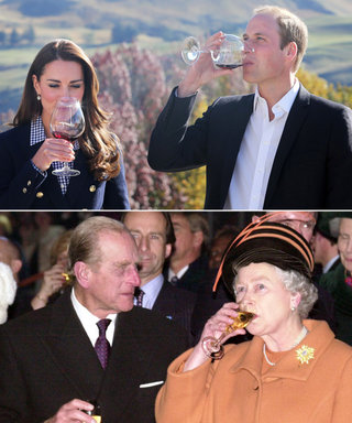 8 Times Queen Elizabeth and Kate Middleton Posed the Same Way
