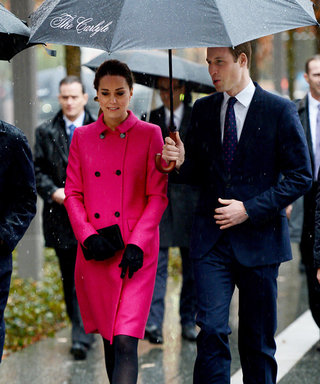 Prince William and Kate Middleton Visit New York's September 11 Memorial