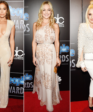 Smoldering Red-Carpet Fashions from the 2014 People Magazine Awards