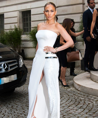 Is it a Gown? Is it Pants? Jennifer Lopez's Stunning Atelier Versace Outfit Is Actually Both