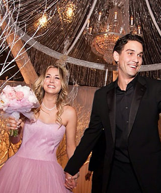What Did Bride Kaley Cuoco Wear for Her Walk Down the Aisle? Hint: It Wasn't White!