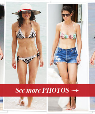 Hollywood Goes to the Beach! See Celebrities and Their Bikinis