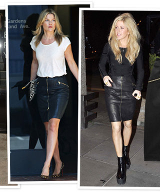 Leather It Up! This J Brand Skirt is a Celeb Favorite