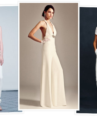 Would You Wear a Onesie to Your Wedding? See the Latest Trend in Bridal Fashion