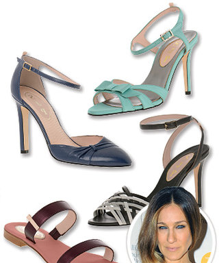 """Sarah Jessica Parker's New Shoe Collection is Worth a Major """"Wow"""" from Carrie Bradshaw"""