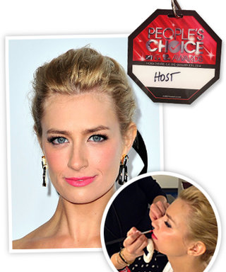 Glam Squad Exclusive: Behind-The-Scenes Beauty with Beth Behrs at the People's Choice Awards