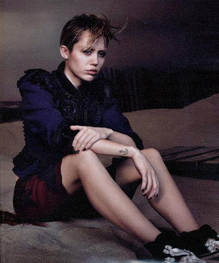 She's Just Being Miley! See Miley Cyrus' Edgy Campaign for Marc Jacobs