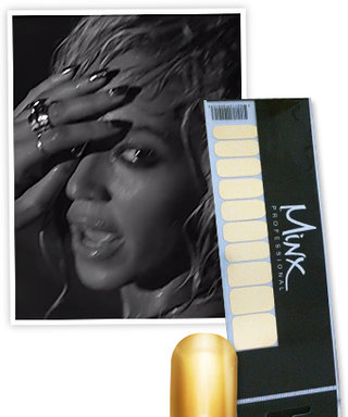 """Found It! Beyonce's Shiny Nail Wraps From Her """"Drunk in Love"""" Music Video"""
