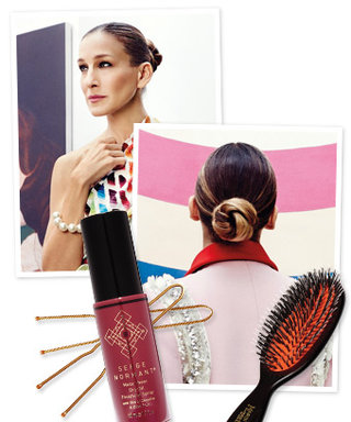 Recreate Sarah Jessica Parker's Sleek Bun From InStyle's February Issue