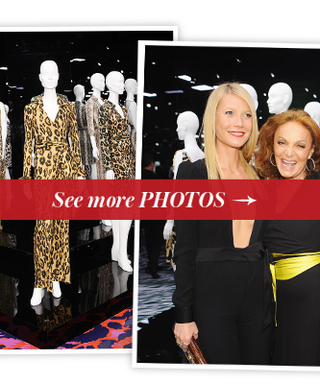 "Diane von Furstenberg Celebrates the Dress That ""Paid All My Bills"" with Gwyneth Paltrow, Demi Moore and Others"