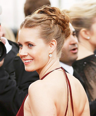 Gorgeous! All the Details of Amy Adams' Modern Grecian Up-Do