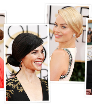 Golden Globes Red Carpet Hair Trend: Chic, Low-Slung Chignons