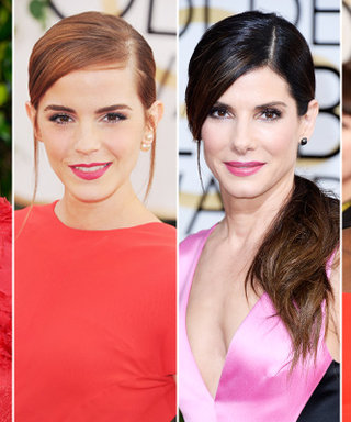 Golden Globes Red Carpet Beauty Trend: Matching Your Lips to Your Dress