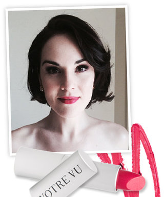 Found It: Michelle Dockery's Red Lip From Tonight's Golden Globes!