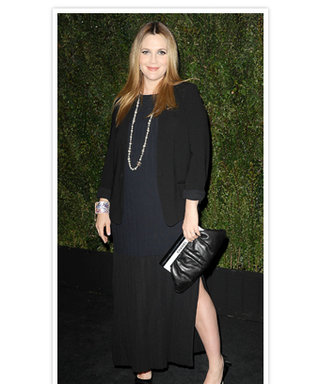 "What's Drew Barrymore's Pregnancy Style Rule? ""Find Something That Makes You Feel Good About Yourself"""