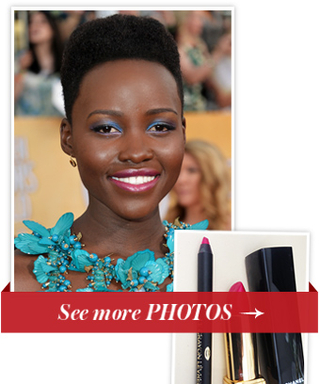 Only On InStyle! See How Lupita Nyong'o's Butterfly-Inspired SAG Awards Makeup Came Together