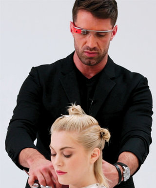 Thanks to Google Glass and Matrix, You Can Get a Hair Tutorial From Your Stylist's Perspective