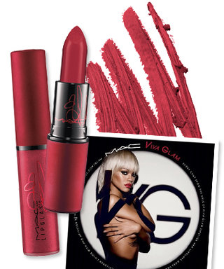 Now In Stores: Rihanna's Red-Hot Viva Glam Shade for MAC