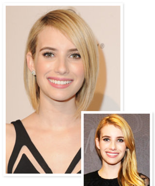 Emma Roberts Channels Victoria Beckham With Her New Haircut