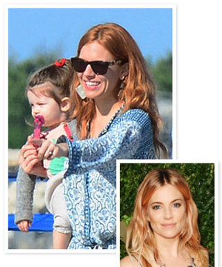 Check Out Sienna Miller's New Red Hair!