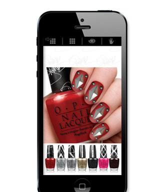 Create Your Own Gwen Stefani-Inspired Nail Art -- No Drying Time Required!
